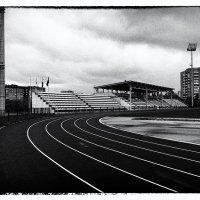 Стадион в маленьком городке. :: Александр Белоглазов