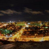 Красноярск с Караульной горы.(апельсиновая долька) :: Владимир