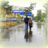 Двое и дождь. :: Лариса Авдонина