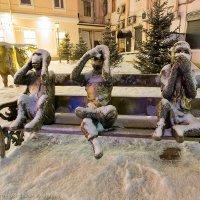 Какой ужас, пришла зима... :: Алексей Белик