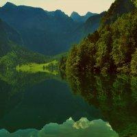 Озеро Оберзее :: Валентина Потулова