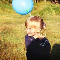 Девочка с шаром :: Анна Фрошгайзер