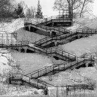 Лестница к нагорному парку :: Михаил Кузнецов