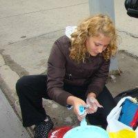 Юная художница :: Наталья Золотых-Сибирская
