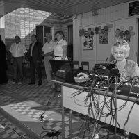 Школьная линейка в станице Новорождественской :: Андрей Фиронов