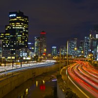 ночной Тель Авив :: Stanislav Gvozdin