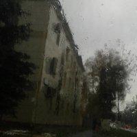 Дождь рисует маслом :: Наталья Дмитриева