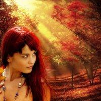 Осень - рыжая колдунья :: NeRomantic Выползова