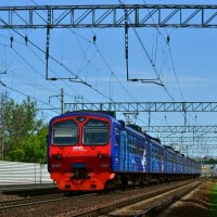 Электропоезд ЭД4М-0352 :: Денис Змеев