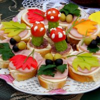 Осенние бутерброды. :: nadyasilyuk Вознюк
