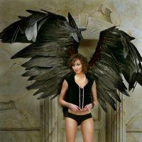 Черный ангел! :: Нимфа N