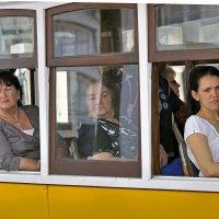 Приветливые лица милых горожанок :: Юрий Воронов