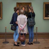 Три девицы...(так вот ты какой, Пушкин!) :: Alent Vink