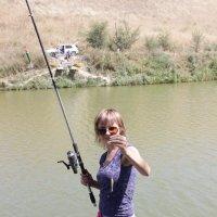 На рыбалке :: Олеся Щербакова