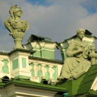 На крыше Эрмитажа :: Сергей Карачин