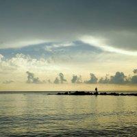 Чуть устало,но блаженно облака плывут к ночлегу... (Ирина Чичикина). :: Elena Izotova