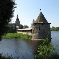 Псков    река   Великая :: Valentina Lujbimova [lotos 5]