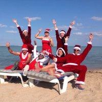 новый год на пляже!!!! :: Иван Марюшкин