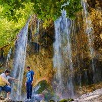 Горные водопады :: Леонид Соболев