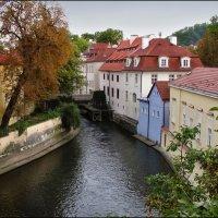 Водяная мельница на реке Чертовка. Прага. :: Александр Л......