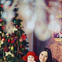 Новогодняя фотосессия с мамой :: марина алексеева