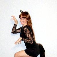 девушка-кошка :: Ольга (Кошкотень) Медведева