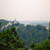 Тригорский монастырь в дождливый день :: Валентина Данилова