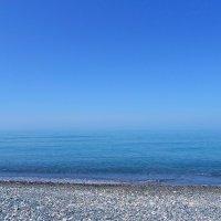 Там, где небо сливается с морем... :: Елена Павлова (Смолова)