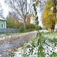 Ранний снег :: Валерий Талашов