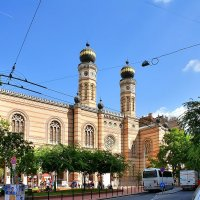 Большая синагога на улице Дохань в Будапеште :: Денис Кораблёв