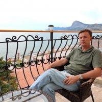 Автопортрет в Судаке :: Алексей Меринов