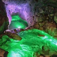 Подземная река в Красной пещере. Крым :: Marina Timoveewa