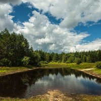 Под облаками :: Дмитрий Сдобин