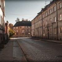 Пустая улица в старом городе Тильзите :: Игорь Вишняков