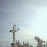 Крест над Шерегешем. :: Irina Sergeeva