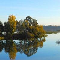 осень на реке... :: Татьяна Шестакович