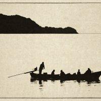 Одинокая лодка :: Олег Фролов