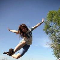В прыжке :: Вера Щукина