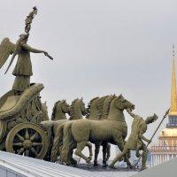 Санкт-Петербург Дворцовая площадь. :: Харис Шахмаметьев