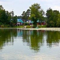 У озера :: Ирина Киямова