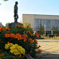 Памятник Тучкову,основателю Измаила,Украина. :: Жанна Романова