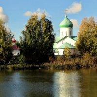 Церковь святого Сергия Радонежского. :: Владимир Гилясев