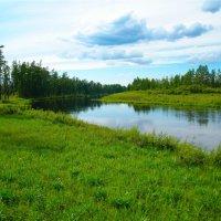 река Большая Хатыми. :: cfysx