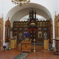 В соборе Св. Николая Чудотворца. Иконостас :: Елена Павлова (Смолова)