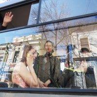 в окне трамвая :: ИРЭН@ Комарова