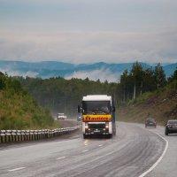 Челябинская область, дорога над облаками :: Елена Дырда