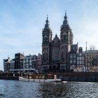Амстердам, вид с канала :: Witalij Loewin