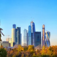 Москва Сити :: Ксения Базарова