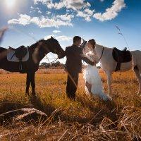 Прогулка на лошадях :: Алексей Моисеев