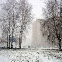Непогода в городе :: Мила Бовкун